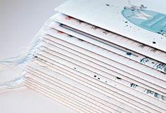 """ScrapBee: Блокнотомания от Helen Frolova """"Мамины заметки + МК блокнотный блок на швейной машинке"""""""