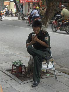 Hanoi's Old Quarter, Vietnam