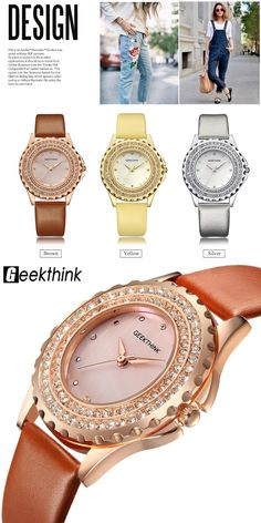 Bling Bling Luxury Woman Quartz Watch Diamond Analog leather WristWatch fashion ladies Gfit Casual watch clock female Feminino