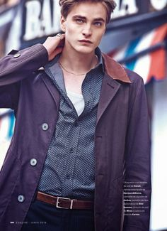 Walk the Line: Robert Laby is an Urban Cowboy for Esquire España image Robert Laby Model