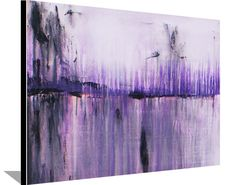 Abstract Painting Original Painting on Canvas Purple Painting Acrylic Wall Decorations Modern Art by Heather Day Purple Painting, Purple Art, Original Artwork, Original Paintings, Painting Inspiration, Abstract Art, Abstract Paintings, Art Paintings, Canvas Wall Art
