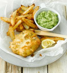 Leave the seaside behind with our delicious Tofish and Chips!