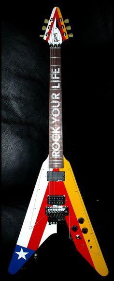 That doesn't even mean anything. ||  Gibson Flying V => Rudolf Schencker