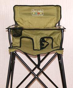 Sage Travel High Chair #zulily *This is perfect for camping!