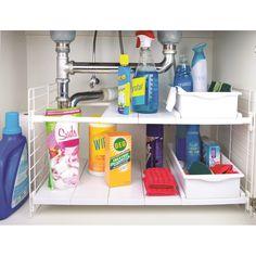 67 Ideas Bathroom Organization Storage Under Sink Drawers Under Kitchen Sink Organization, Under Kitchen Sinks, Bathroom Cabinet Organization, Sink Organizer, Bathroom Storage, Organization Ideas, Bathroom Ideas, Laundry Storage, Kitchen Counters