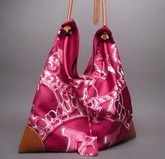 Hermès - Silkcity Bag Vif Argent by Dimitri Rybaltchenko