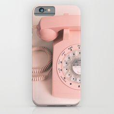 vintage phone iPhone & iPod Case