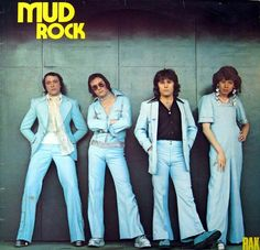MUD Mud Rock - Glam rock MUD's first album, MUD ROCK , was recorded at Audio International Studios during the ear. 70s Glam Rock, Glam Rock Bands, Save The Last Dance, Rock & Pop, Billy Fury, Maybe Tomorrow, Vinyl Lp, Music Charts, Music Images