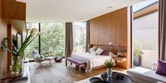Bright and airy residence surrounded by gardens in Mexico City