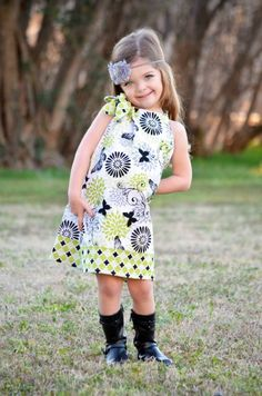 Hayden modeling for Sassy & Sweet Baby Boutique
