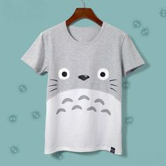 cotton t shirt women on sale at reasonable prices, buy Harajuku Kawaii Cat Totoro T-Shirt Female 2017 Summer Short Sleeve Cotton T shirt Women Tops Graphic Tee Shirt Femme Tshirt from mobile site on Aliexpress Now! Graphic T Shirts, Tee Shirts, Casual Shirts, Harajuku, Totoro Shirt, My Neighbour Totoro, News Fashion, T Shirts For Women, Clothes For Women