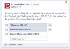 Kundensentiment: So denken unsere Facebook Fans über Samsung.