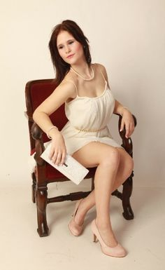 My foto in white Dress..lovely think!