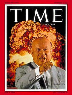1961-09 Nikita Khrushchev Copyright Time Magazine - Mad Men Art: The 1891-1970 Vintage Advertisement Art Collection