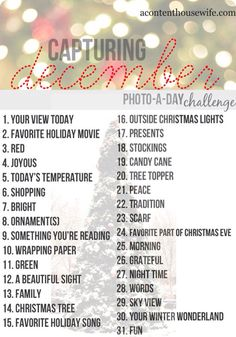 December photo challenge. One of my New Years resolutions for 2013 was to do a photo challenge... I'm down to my last month of the year oops.