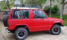 1989 Dodge Raider 4x4 V6 with custom roof rack