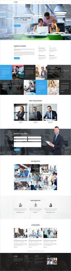 Buy Business Finance and Consultancy HTML Template - Tallinn by Themecraze on ThemeForest. Tallinn Financial Advisor – Business and Consultancy HTML Template developed by ThemeCraze. The template is designed . Financial Website, Web Design Inspiration, Design Ideas, Web Project, Consulting Firms, Html Templates, Finance Business, Stock Photos, Robot