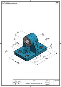 Isometric Drawing Exercises, Autocad Isometric Drawing, 3d Sketch, Sketch Design, Sketches, Mechanical Engineering Design, Mechanical Design, Mechatronics Engineering, Cad 3d