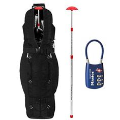 Best Golf Bags | Club Glove Last Bag Collegiate Golf Travel Cover w Free Stiff Arm  TSA Lock Black * You can find more details by visiting the image link. Note:It is Affiliate Link to Amazon.