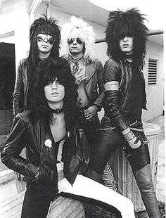 I love Motley Crue's style! 80s Hair Metal, Hair Metal Bands, 80s Hair Bands, Glam Metal, Nikki Sixx, Girls Girls Girls, Tommy Lee, Glam Rock, Heavy Metal