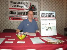 Clean Carpet Solutions out of Salem Virginia offers superior carpet cleaning using the patented Rotovac carpet restoration system.