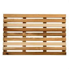 Get the relaxed look and feel of woven wood with this inexpensive option. These Budget Woven Wood Shades from Custom Home Collection provide a casually elegant accent to your bedroom or living room, while offering discount savings. Bath Linens, Bath Rugs, Modern Bathroom Mirrors, Master Bathroom, Bathroom Ideas, Boot Tray, Woven Wood Shades, Slippery When Wet, Teak Wood
