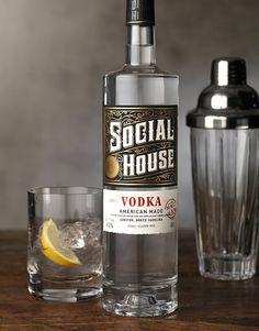 CF Napa Brand Design - Social House Vodka - CF Napa