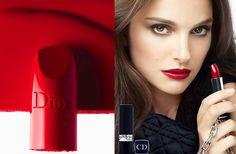 NATALIE PORTMAN FOR ROUGE DIOR FALL 2013 - Beauty and Secrets Magazine