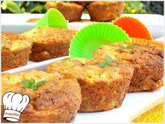 Υπεροχα αλμυρα muffins κολοκυθιου με φετα,αφρατα,γρηγορα και οικονομικα. Για κολατσιο,μπουφε εορταστικων ημερων,και εκδηλωσεων θεωρω ιδανικοτατα. Απολαυστε τα!!!  ΥΛΙΚΑ (12 ΚΟΜΜΑΤΙΑ) 500 γρ.πρασινα κο