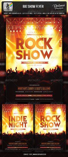 Ladies Night Party Psd Template Creativo, Festival e Volantini - comedy show flyer template