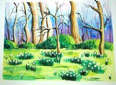 #watercolors #painting
