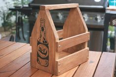 Beer  Timber Beer Crate and Carrier  Small bottles by Beeritis