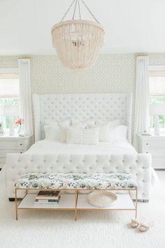 feminine glam bedroom