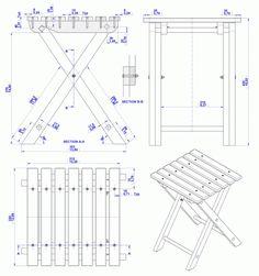 PDF Stool Fold Woodworking Plans