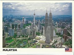 The postcard came from Malaysia