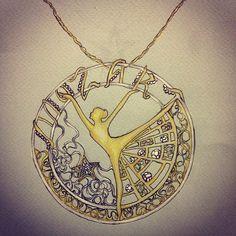 #jewellery #jewellerydesign#jewellerysketch#designgioielli#bijoux #mozart#music #musica #inspiration #art#arte #fashion #swag #style #fragolina #stilista#gioielli #stella #star #ballerina#ciondolo#oro #gold