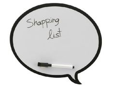 Abych už nikdy nezapomněla koupit něco důležitého nebo mi neutekla zajímavá myšlenka.                                                     ...Magnetická tabule