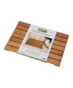 Take a look at this Bamboo Bath Mat by Eco Styles Home Collection on #zulily today!