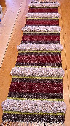 Witchhazel, 2007 | wool rag rya rug | Avalanche Looms | Flickr