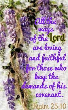 Psalm 25:10