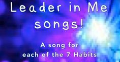 MLT, easy as Do Re Mi: A Music Learning Theory classroom: 7 habits songs: Habit 1: Be Proactive