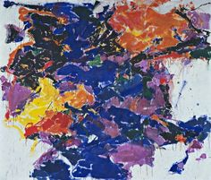 Towards Disappearance, II. 1958  Sam Francis  The Museum of Modern Art, New York