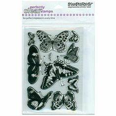Stampendous 'Butterflies' Clear Stamps