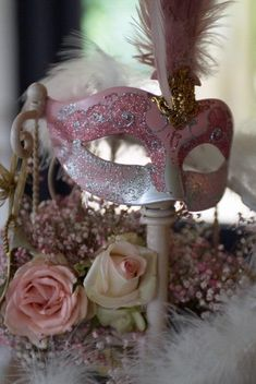 Masquerade Ball Themed Quinceanera Add some mystery and elegance to your quinceanera with a masquerade ball themed party. More from my site Ideas For Throwing a Mardi Gras Masquerade Party sweet 16 masquerade ball centerpieces Diy Masquerade Decorations, Masquerade Party Decorations, Masquerade Ball Party, Sweet 16 Masquerade, Masquerade Wedding, Masquerade Theme, Venetian Masquerade, Quinceanera Themes, Quinceanera Centerpieces