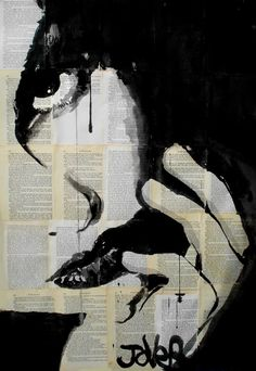 "Saatchi Art Artist Loui Jover; Drawing, ""sometimes"" #art"
