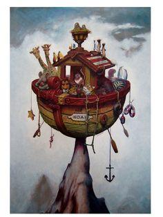Noah's Ark by andyartisand.deviantart.com on @DeviantArt