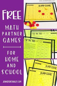 Free Math Games, Fun Math, Math Activities, Maths Puzzles, Math Worksheets, Math Resources, Educational Activities, Teaching Multiplication, Teaching Math