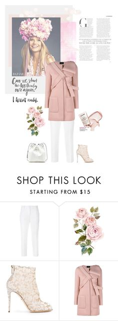"""""""Gwyneth Paltrow"""" by bjigg ❤ liked on Polyvore featuring Dolce&Gabbana, Simone Rocha and Sole Society"""