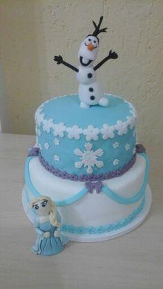 bolo tema  Frozen