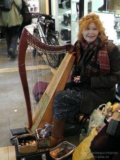 Harp player on the streets of Dublin http://wheresmybackpack.com/2012/06/01/rhythm/